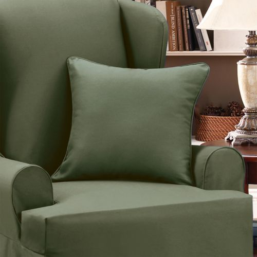 Sure Fit Twill Supreme Accent Pillow