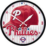 WinCraft Philadelphia Phillies Round Team Wall Clock