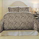 Pointehaven Safari Soft Luxury Flannel Duvet Cover Set