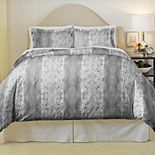 Pointehaven Python Soft Luxury Flannel Duvet Cover Set