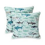 The Big One® Kids Printed Plush 2-pack Throw Pillow