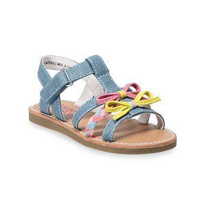 Rachel Shoes Lillyann Toddler Girls' T-Strap Sandals