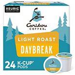 Caribou Coffee Daybreak Morning Blend Coffee, Keurig® K-Cup® Pods, Light Roast, 24 Count