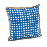 Terrasol Picnic Check Indoor Outdoor Throw Pillow