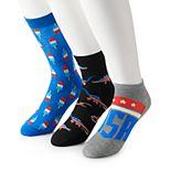 Men's 6-pack Americana Novelty Fashion Socks & Bandana