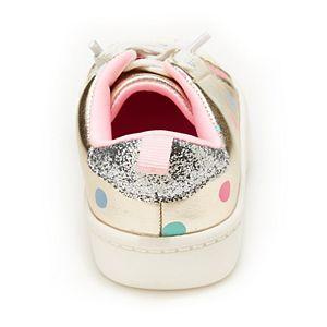 Carter's East Kids' Gold Polka Dot Sneakers
