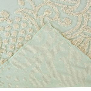 Better Trends Florence Cotton Chenille Comforter or Standard Sham