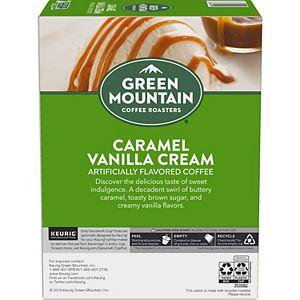 Green Mountain Coffee Roasters Caramel Vanilla Cream Coffee, Keurig® K-Cup® Pods, Light Roast, 24 Count