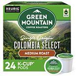 Green Mountain Coffee Roasters Colombia Select Coffee, Keurig® K-Cup® Pods, Medium Roast Coffee, 24 Count