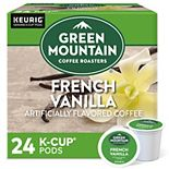 Green Mountain Coffee Roasters French Vanilla Coffee, Keurig® K-Cup® Pods, Light Roast, 24 Count