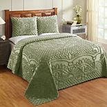 Better Trends Trevor Chenille Bedspread Set