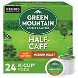 Green Mountain Coffee Roasters Half Caff Coffee, Keurig® K-Cup® Pods, Medium Roast, 24 Count