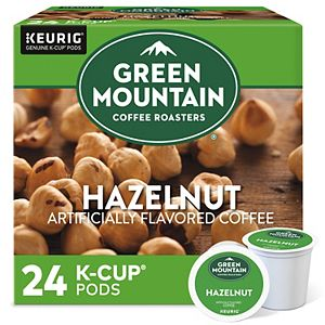 Green Mountain Coffee Roasters Hazelnut Coffee, Keurig® K-Cup® Pods, Light Roast, 24 Count