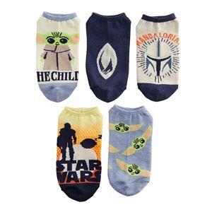 Women's Star Wars The Mandalorian No-Show Socks 5-Pack