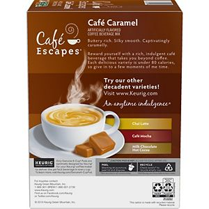 Café Escapes Café Caramel Keurig® K-Cup® Pods, 24 Count