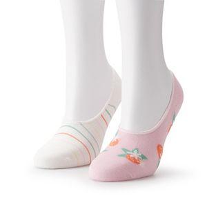 Women's LC Lauren Conrad Novelty No-Show Socks 2 Pack