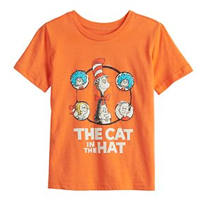 "Boys 4-12 Jumping Beans® Dr. Seuss ""The Cat in The Hat"" Graphic Tee"
