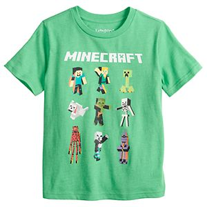 Boys 4-12 Jumping Beans® Minecraft Graphic Tee