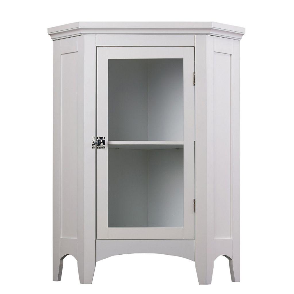 Elegant Home Fashions Corner Floor Cabinet