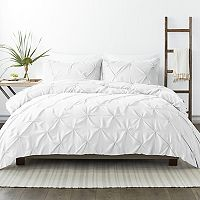 Home Collection Ultra Soft Pinch Pleat Duvet Cover Set Twin Deals