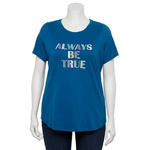Plus Size Sonoma Goods For Life® Short Sleeve Graphic Tee