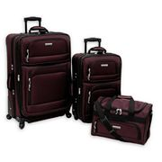 Stanton Luggage, Madison 3-pc. Luggage Set
