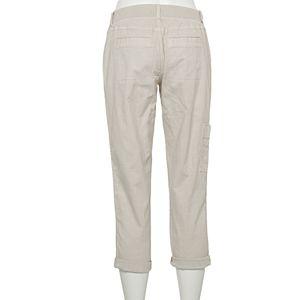 Women's Sonoma Goods For Life Ultra Comfort Waist Utility Capri Pants