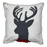 SAATVIK Reindeer Throw Pillow