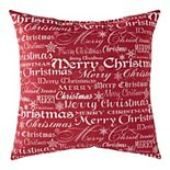 Greendale Home Fashions Holiday Throw Pillow