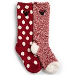 Disney's Minnie Mouse Barefoot Dreams® CozyChic® Kids Socks - 2 Pack