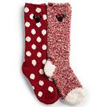 Disney's Minnie Mouse Barefoot Dreams® CozyChic® Kids Socks - 2 Pack