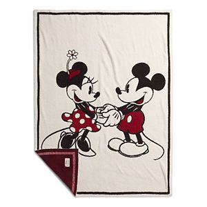 Disney's Mickey & Minnie Mouse Barefoot Dreams® CozyChic® Blanket