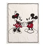 Disney's Mickey & Minnie Mouse Barefoot Dreams® CozyChic® Baby Blanket