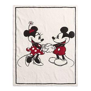 Disney's Mickey & Minnie Mouse Barefoot Dreams® CozyChic® Baby Blanket