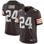 Men's Nike Nick Chubb Brown Cleveland Browns Vapor Limited Jersey