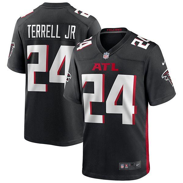 Men's Nike A.J. Terrell Black Atlanta Falcons 2020 NFL Draft First Round Pick Game Jersey