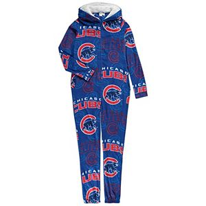 Women's Concepts Sport Royal Chicago Cubs Pinnacle Microfleece Union Full-Zip Hoodie Suit