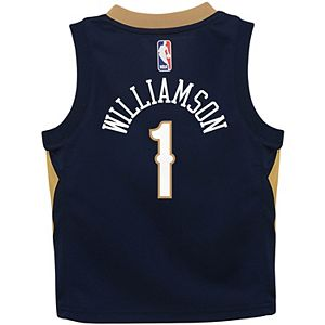 Toddler Nike Zion Williamson Navy New Orleans Pelicans Replica Jersey - Icon Edition