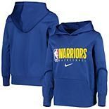 Youth Nike Royal Golden State Warriors Spotlight Performance Pullover Hoodie