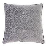 Jordan Manufacturing Embossed Velvet Toss Pillow