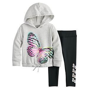 Toddler Girl Jumping Beans® Active Pullover & Leggings Set