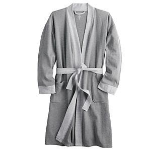 Men's Croft & Barrow® Waffle-Weave Kimono Robe