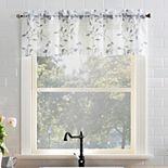 Top of the Window Adele Rod Pocket Kitchen Curtain Valance