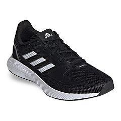 ladies black adidas trainers size 8