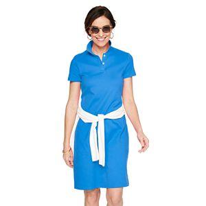 Women's Croft & Barrow® Polo Dress