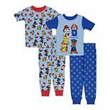 Toddler Boy PAW Patrol 4 Piece Pajama Set