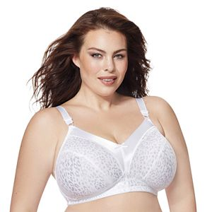 Just My Size® Bras: 2-pack Satin Stretch Full-Figure Wire-Free Bra 1960