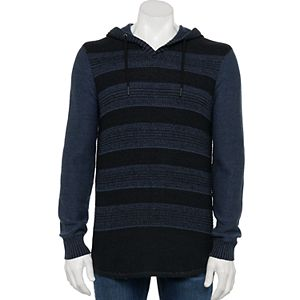 Men's Urban Pipeline® Striped Hoodie Sweater