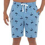 Men's IZOD Palm Tree Knit Jersey Sleep Shorts