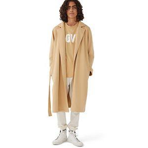 Gender Neutral Human Nation Unity Long Coat in Heavyweight Fleece